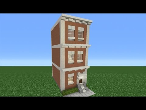 Minecraft Townhouse Build