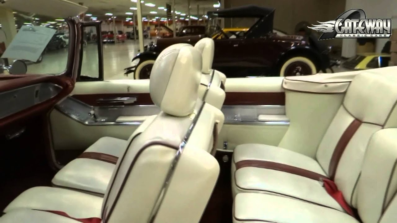 1964 chrysler imperial convertible for sale at gateway classic cars in st louis mo youtube. Black Bedroom Furniture Sets. Home Design Ideas