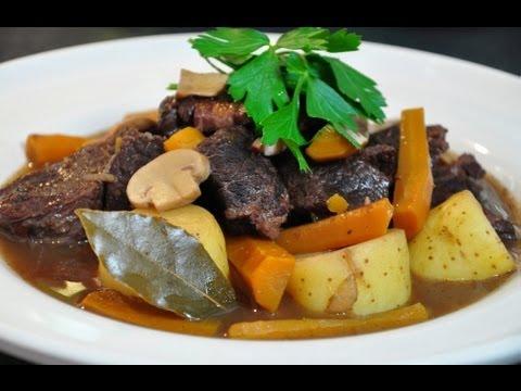 Recette de cuisine boeuf bourguignon youtube - Recette de cuisine francaise ...