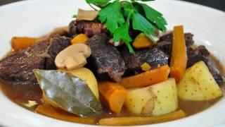 recette de cuisine : boeuf bourguignon