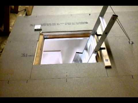 Easiway Loft Ladder Installation Video Funnydog Tv