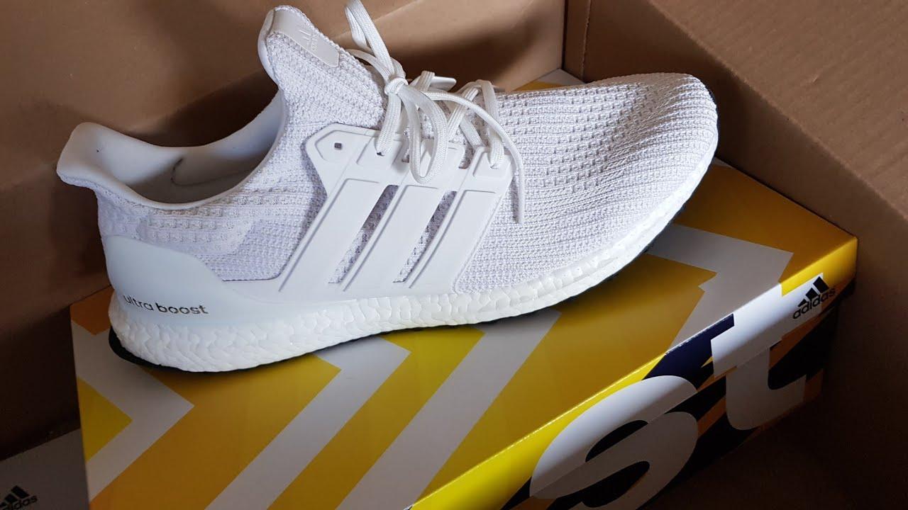Quietschen Boost Haul 0 Tripple 4 White Adidas Ultra Shopping 4jLA5R