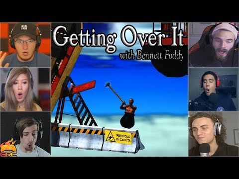 """Gamers Reactions to Falling Down at """"Danger of Falling"""" Sign 