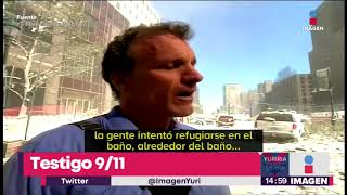 ¡Surge nuevo video de las torres gemelas en el 11 de septiembre!   Noticias con Yuriria Sierra