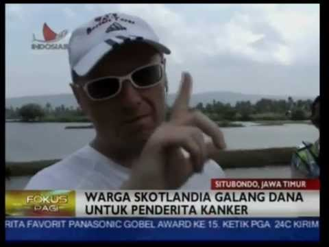 Scott Thompson Charity Run Bali to Jakarta - Fokus Pagi Indosiar