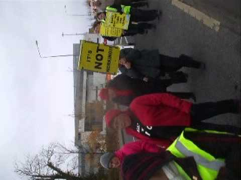 Ballyhea Protest Group Donegal Town 27/10/2012
