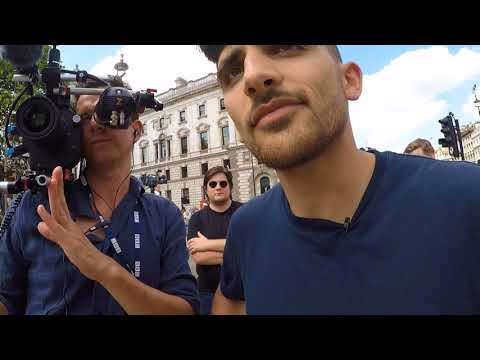 Sargon of Akkad BBC Interview/Debate at #TrumpProtest