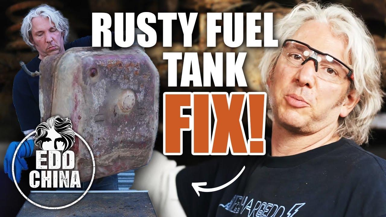 1986 Range Rover, rusty fuel tank fix, Edd China's Workshop Diaries