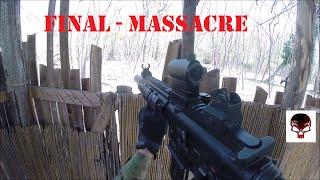 Gameplay airsoft _ FINAL MASSACRE