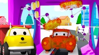 The Car Wash: learn colors with Ethan The Dump Truck | | Educational cartoon for children