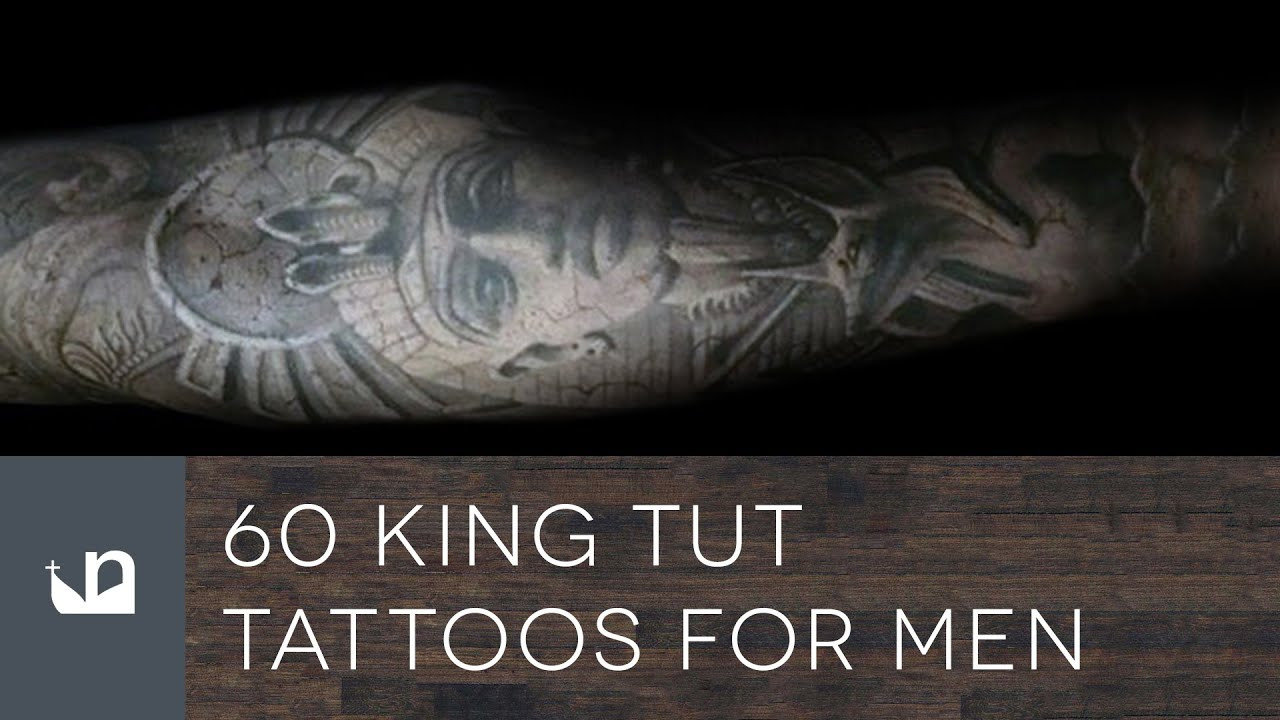 60 King Tut Tattoos For Men - YouTube
