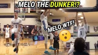 LaMelo Ball Throws Down MEAN DUNKS! Wins FIRST AWARD Back In High School 🔥