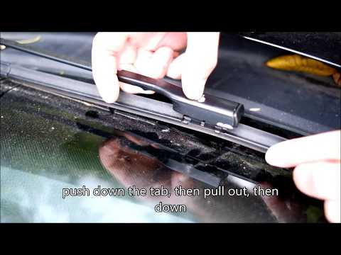 Jetta Wiper Replacement