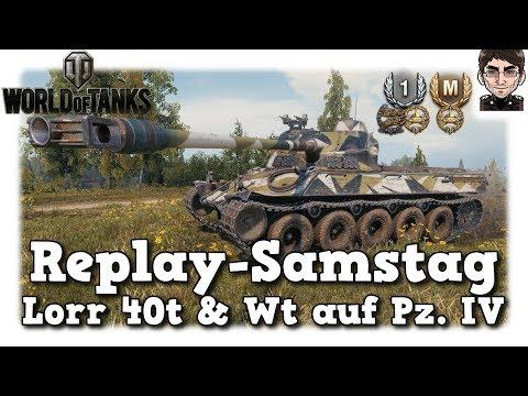 World of Tanks - Lorr 40t & WT auf Pz IV, Schaden, Schaden, Schaden [deutsch | Replay] thumbnail