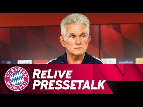 LIVE 🔴 | FC Bayern-Pressetalk vor Borussia Dortmund mit Jupp Heynckes