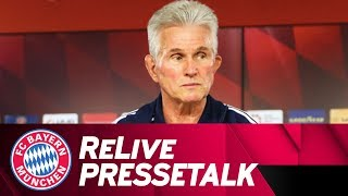 ReLive | FC Bayern Manager's Preview ahead of Borussia Dortmund w/ Jupp Heynckes