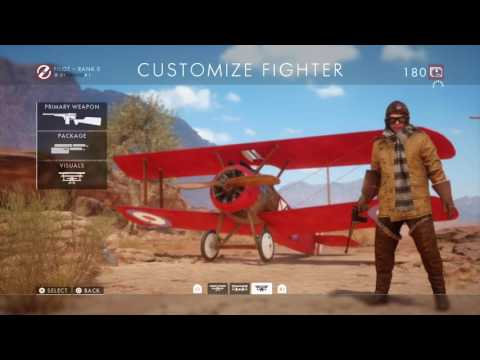 Battlefield 1: the RED BARON AIRPLANE SIKN and LAWRENCE OF ARABIA HORSE SKIN [somkey black ]