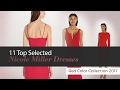 11 Top Selected Nicole Miller Dresses Red Color Collection 2017