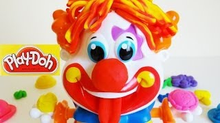 Play-Doh Party Clown Unboxing