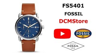 FS5401 Fossil The Commuter Blue Dial ...... DCMStore