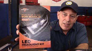 auxbeam led headlight conversion kit review