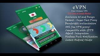 Free VPN android studio app source code download