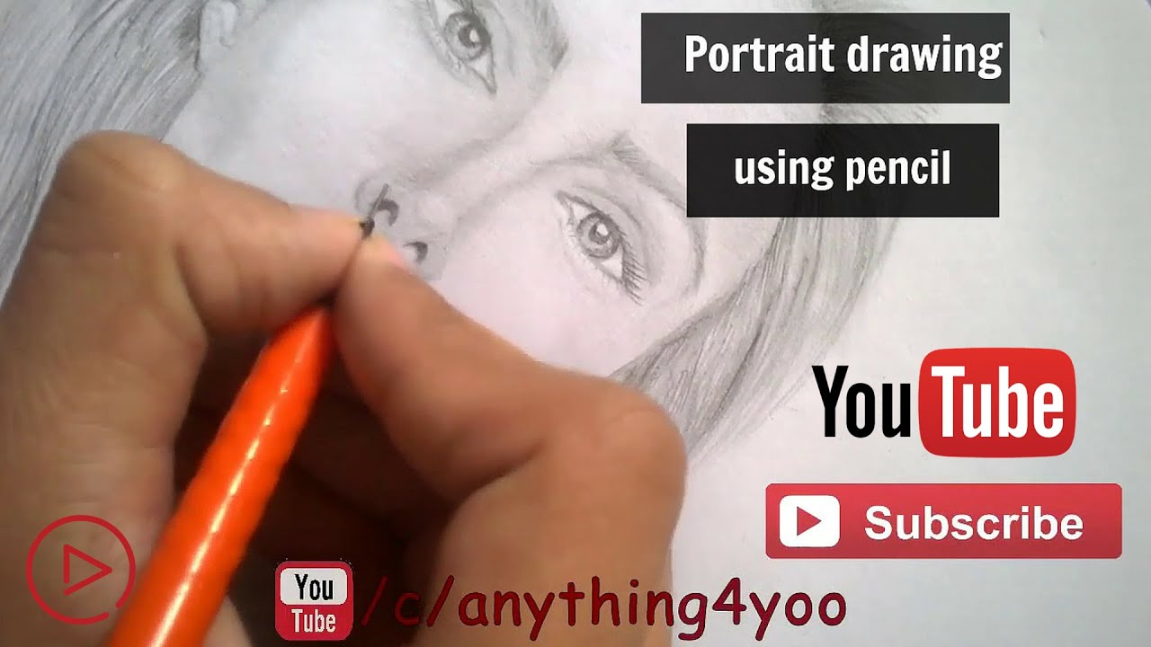 How To Draw A Realistic Face With Pencil