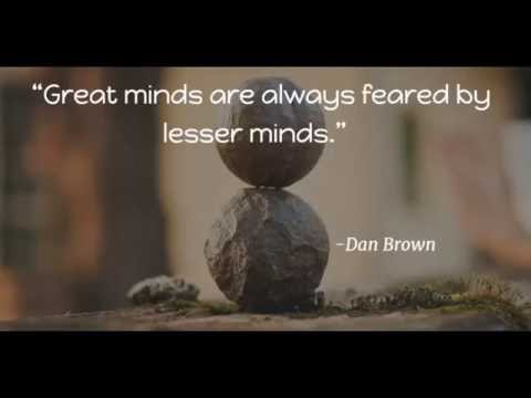 Greatest thoughts by Intelligent Minds