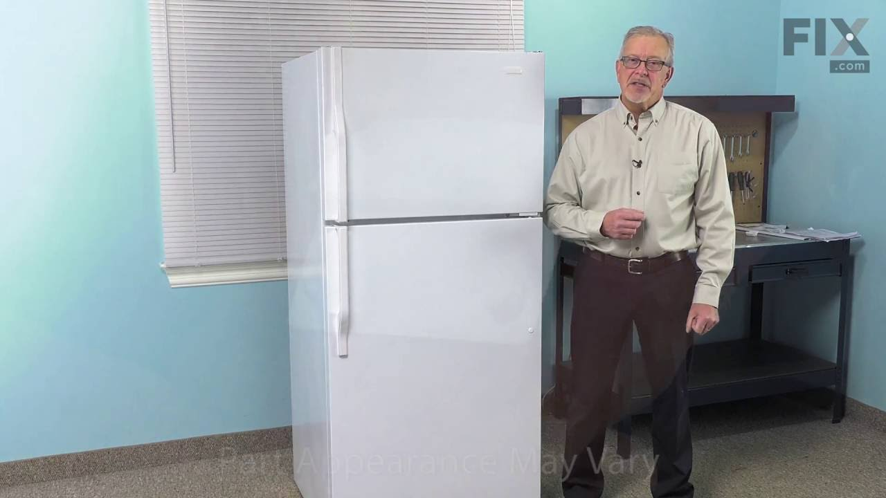 magic chef refrigerator repair how to replace the end cap youtube rh youtube com
