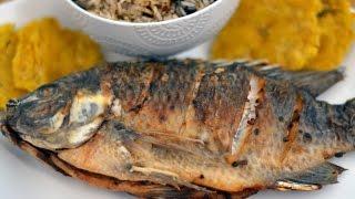 Receta Para Pescado Frito Colombiano - Cómo Hacer Pescado Frito Colombiano - Sweet y Salado