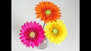Gerbera Tutorial - Anleitung für Gerbera aus Blütenpaste