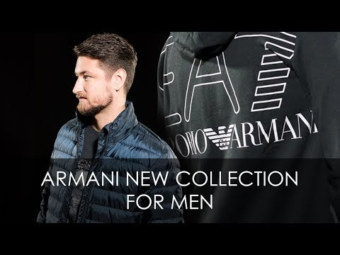 Armani New Collection For Men