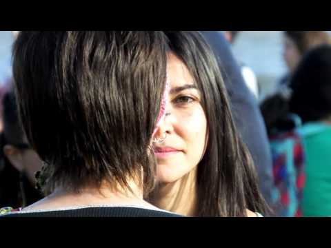 The world´s biggest eye contact experiment - Montevideo, Uruguay