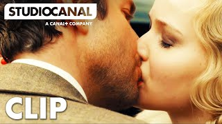 SERENA - Jennifer Lawrence And Bradley Cooper Share A Passionate Kiss - Film Clip