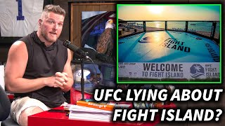 UFC Is Lying To Us About Fight Island