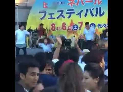 FIGURE COCACOLA- FANTASTIC WONDERFUL- NIRA JAHILE RISAUNI- NEPAL FESTIVAL  JAPAN