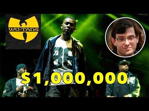 Download Youtube: Martin Shkreli Sells That RARE Wu-Tang CD For $1 Millon FINNALLY!!!
