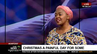 Christmas a painful day for some