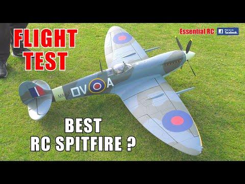 FLIGHTLINE RC SPITFIRE Mk.IX: ESSENTIAL RC FLIGHT TEST