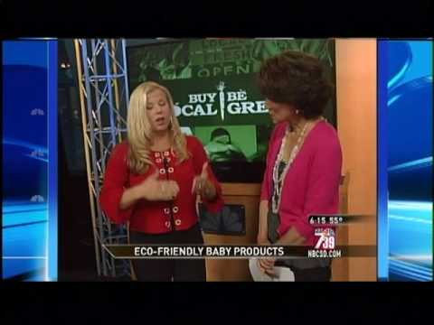 Eco Baby Products featured on NBC San Diego