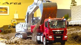 BEST OF RC TRUCK ACTION & MEETINGS! RC CONSTRUCTION-SITE! MAN! MB ACTROS! SCANIA! VOLVO! LIEBHERR