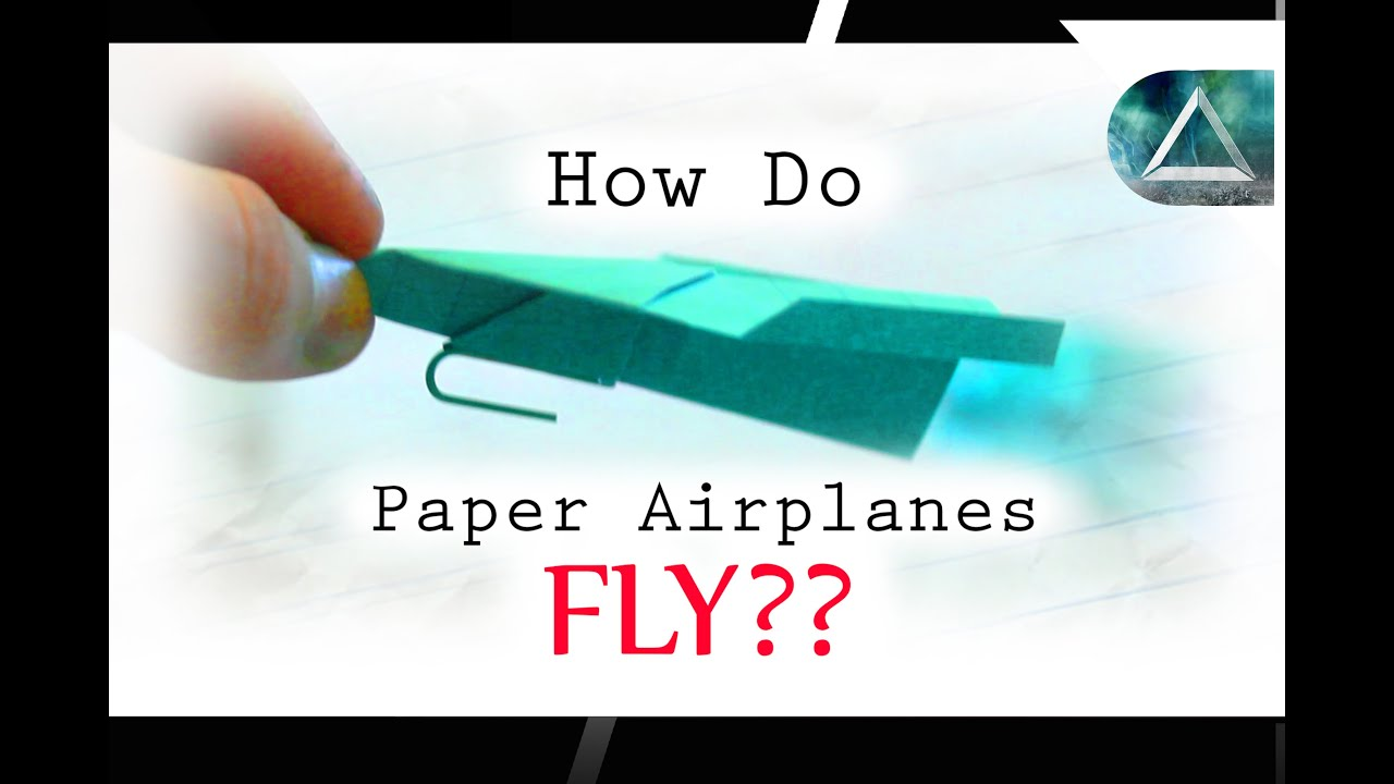 How Do Airplanes Fly Cool Science Experiment And To Make A Paper Airplane Launcher