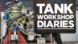 What's in the Workshop? | Ep. 10 | Tank Workshop Diaries | The Tank Museum