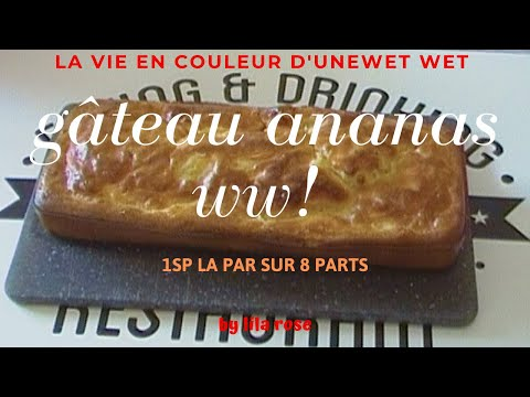 gÂteau-🍍🍍-ananas-ww-1sp-la-part,-on-se-régale-!!!