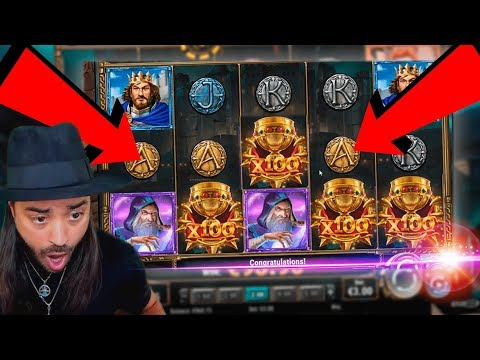 The Sword and The Grail top 5 BIG WINS - Record win on slot