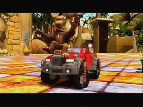 Sonic & SEGA All-Stars Racing - Banjo Kazooie and Avatar trailer (Xbox360 exclusive)