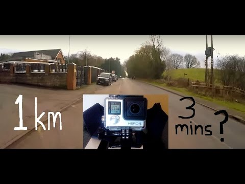 Interval Training: Running 1 Km In 3 Minutes - First Person View