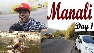 India Travel Video Diaries & Guides - Road Trip to Manali Rohtang from Delhi - Day1