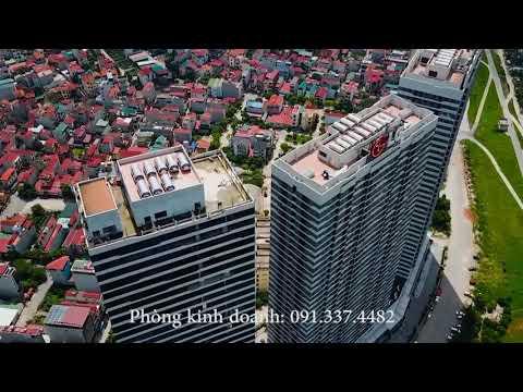 Tiến độ tòa A Văn phòng chung cư Intracom Riverside Nhật Tân Vĩnh Ngọc Đông Anh Hà Nội bán cho thuê