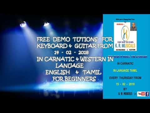 FREE DEMO TUITION  FOR KEYBOARD  &   GUITAR ADD     4